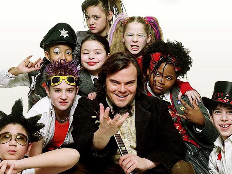 The School of Rock cast